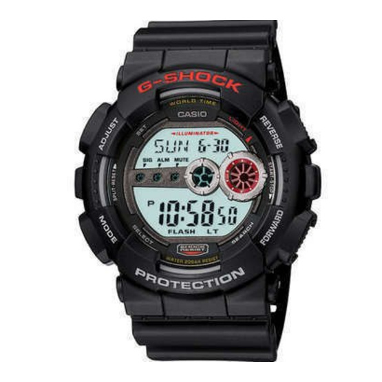 CASIO G-SHOCK นาฬิกาข้อมือ รุ่น GD-100-1ADR