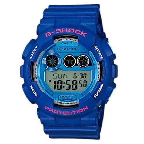 CASIO G-SHOCK นาฬิกาข้อมือ รุ่น GD-120TS-2DR