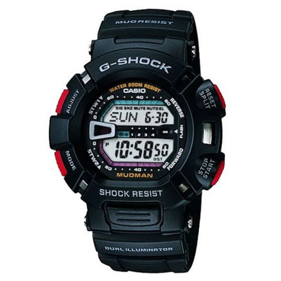 CASIO G-SHOCK นาฬิกาข้อมือ Mudman รุ่น G-9000-1DR