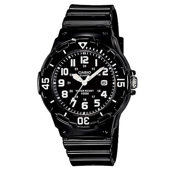 CASIO นาฬิกาข้อมือ รุ่น LRW-200H-1B
