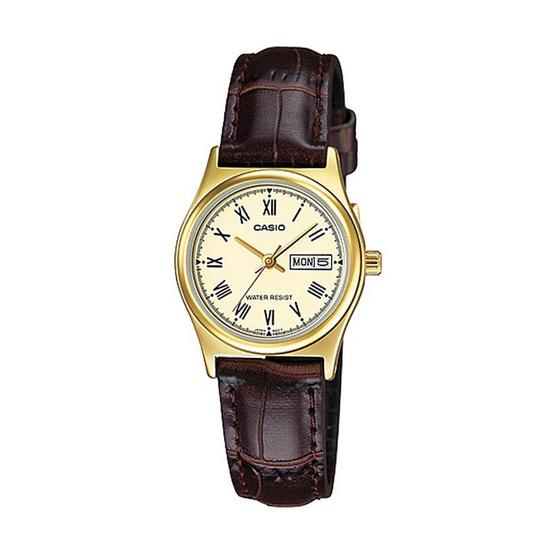 CASIO นาฬิกาข้อมือ รุ่น LTP-V006GL-9BUDF