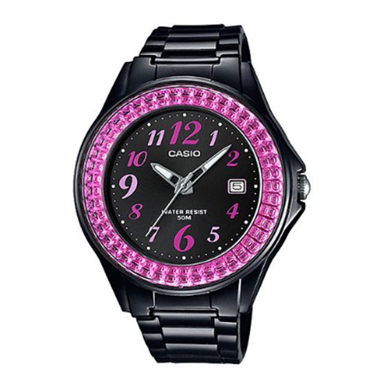 CASIO นาฬิกาข้อมือ รุ่น LX500H-1BVDF