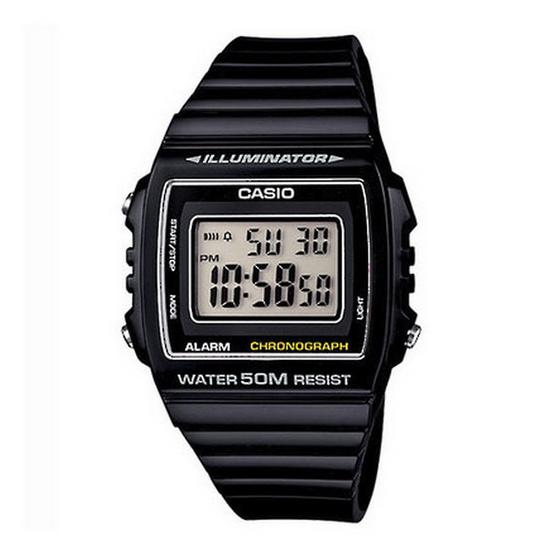 CASIO นาฬิกาข้อมือ รุ่น W215H-1A