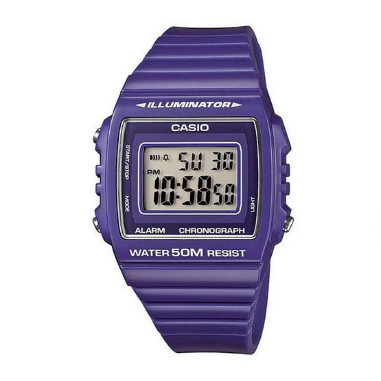 CASIO นาฬิกาข้อมือ รุ่น W215H-6A