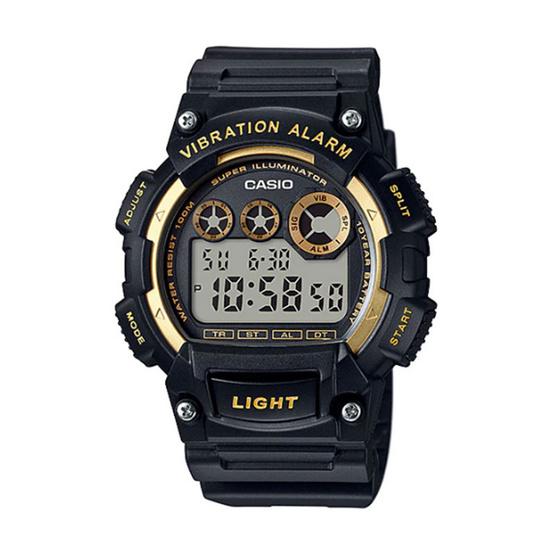 CASIO นาฬิกาข้อมือ รุ่น W-735H-1A2VDF