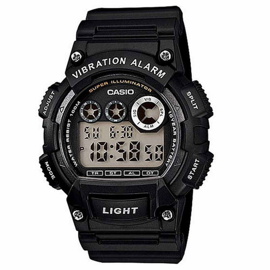 CASIO นาฬิกาข้อมือ รุ่น W-735H-1AVDF