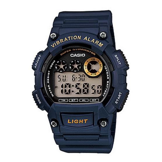 CASIO นาฬิกาข้อมือ รุ่น W-735H-2AVDF