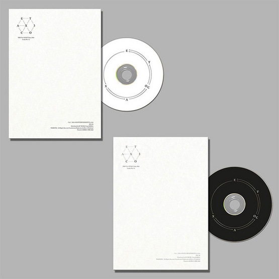 CD แพ๊คคู่ EXO EXACT Lucky one (เกาหลี+จีน Ver.)