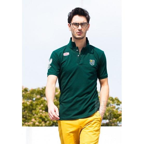 CLEAR เสื้อโปโล 52 - สีเขียว