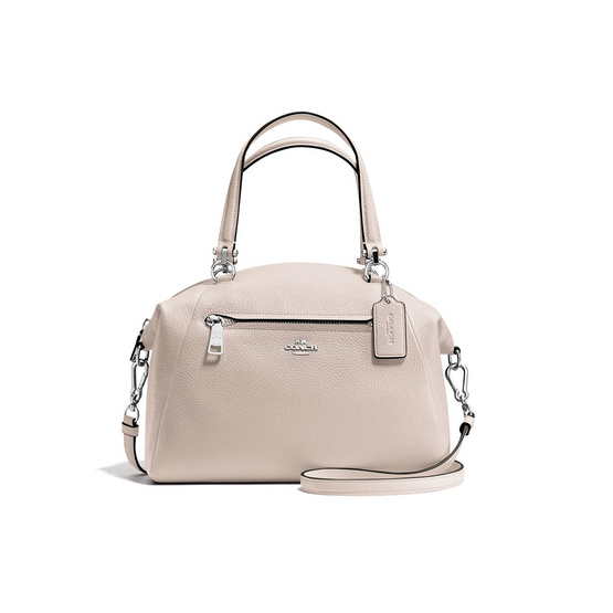 COACH กระเป๋า รุ่น 34340 PRAIRIE SATCHEL IN PEBBLE LEATHER