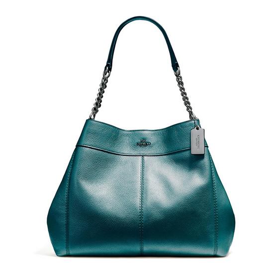 COACH กระเป๋าสะพาย F22209 Lexy Chain Shoulder Bag