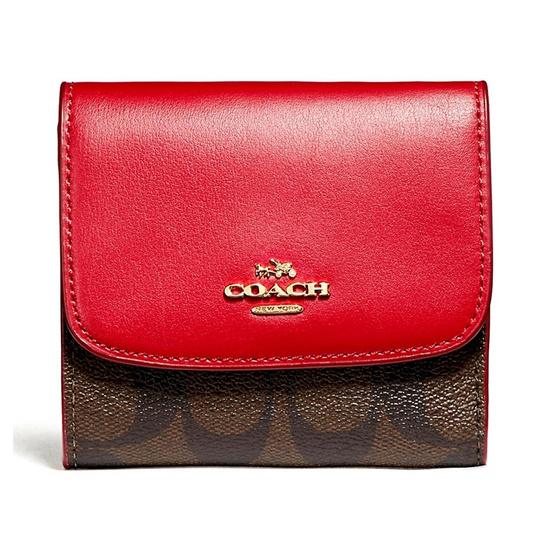 COACH กระเป๋าสตางค์ F87589 Small Wallet