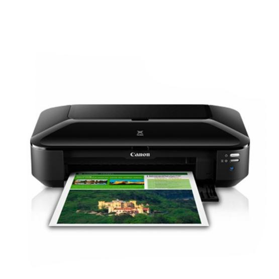 Canon เครื่องพิมพ์ Colour Inkjet Printer PIXMA iX6870 พิมพ์ไร้ขอบ ตลับหมึก 5 สี