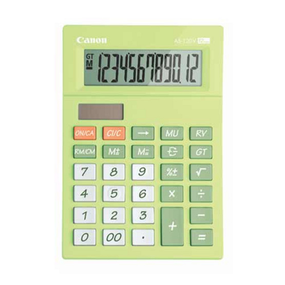 Canon Desktop Calculator รุ่น AS-120V Green