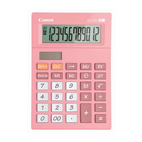 Canon Desktop Calculator รุ่น AS-120V Pink