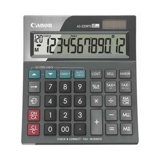 Canon Desktop Calculator รุ่น AS-220RTS