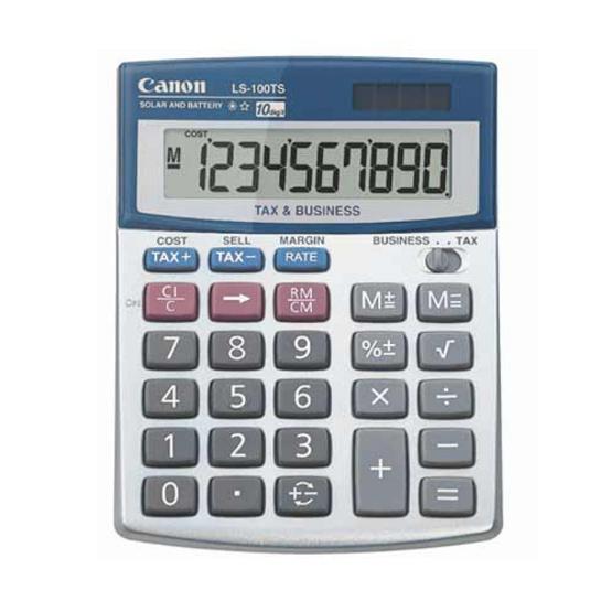 Canon Desktop Calculator รุ่น LS-100TS
