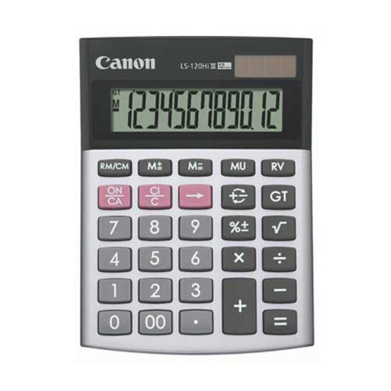 Canon Desktop Calculator รุ่น LS-120Hi llI