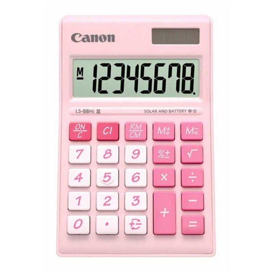 Canon Desktop Calculator รุ่น LS-88 Hi llI Pink