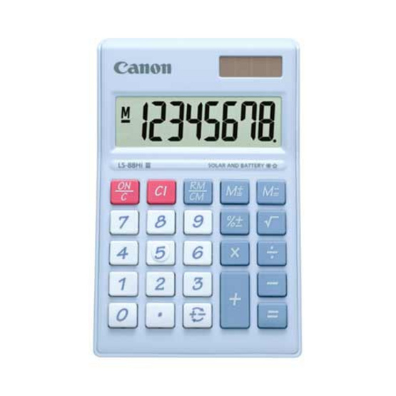 Canon Desktop Calculator รุ่น LS-88 Hi llI Purple