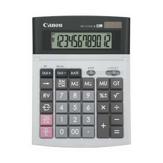 Canon Desktop Calculator รุ่น WS-1210 Hi lll