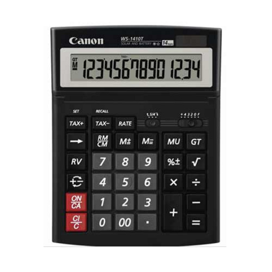 Canon Desktop Calculator รุ่น WS-1410 T