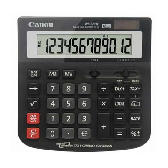 Canon Desktop Calculator รุ่น WS-220TC