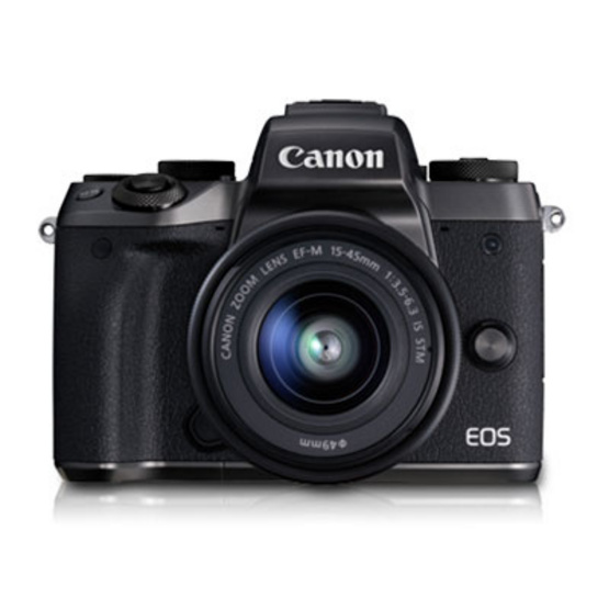 Canon EOS M5 15-45 STM Free SD Card 8 GB