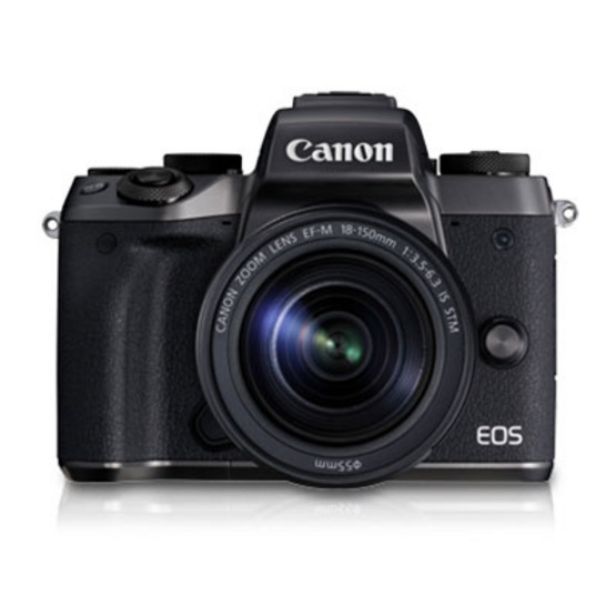 Canon EOS M5 18-150 STM Free SD Card 8 GB