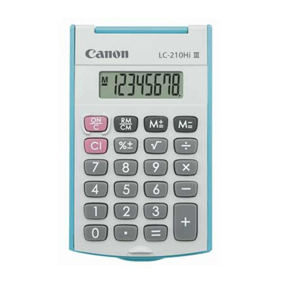 Canon Handheld Calculator รุ่น LC-210Hi lll Blue