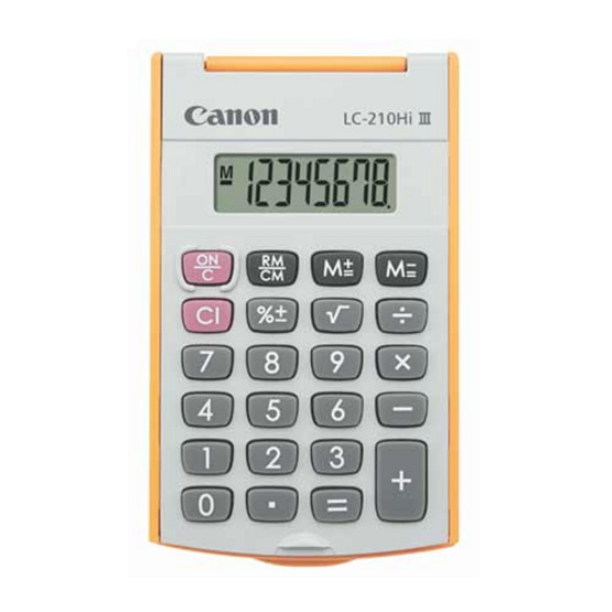 Canon Handheld Calculator รุ่น LC-210Hi lll Orange