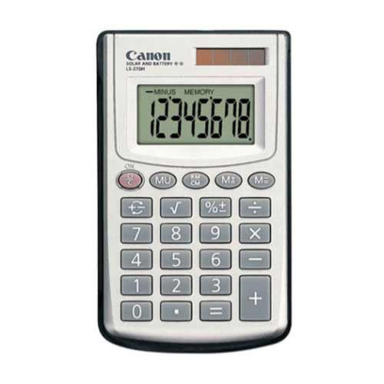Canon Handheld Calculator รุ่น LS-270H