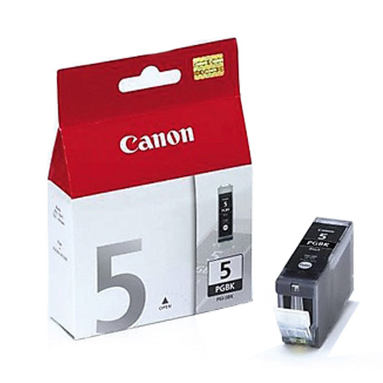 Canon ตลับหมึก อิงค์เจ็ท รุ่น PGI-5BK