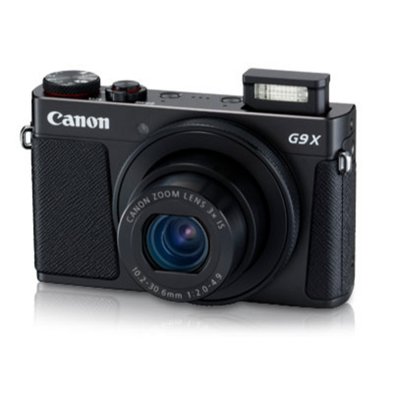 Canon Powershot G9X Mk II Black Free SD Card 8 GB