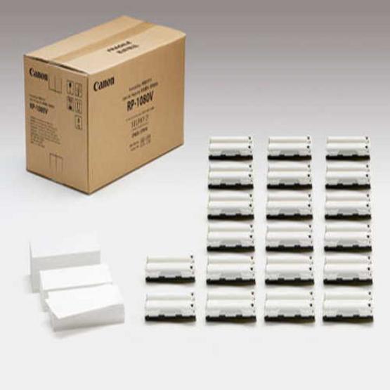 Canon กระดาษพิมพ์พร้อมหมึก RP1080 IN สำหรับ SELPHY PHOTO PRINTER CP910 เท่านั้น ขนาด 4x6 นิ้ว จำนวน 1080 แผ่น ( RP108 X 10 Pack )