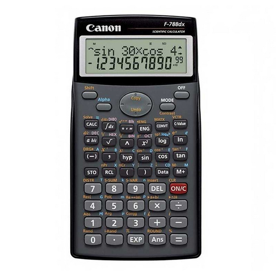 Canon Scientific Calculator รุ่น F-788dx Grey