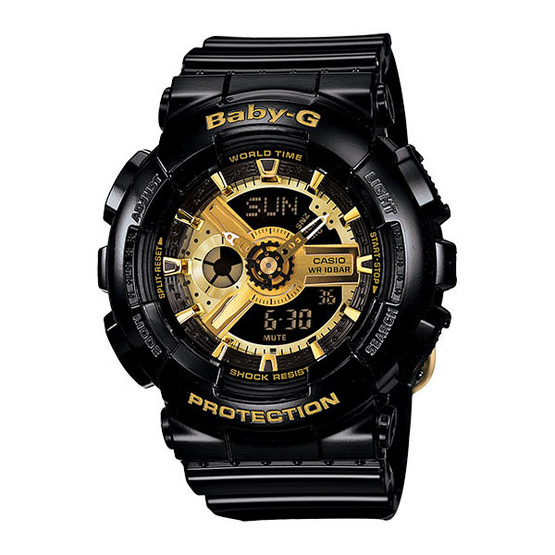 Casio Baby-G Analog-Digital  BA-110-1ADR