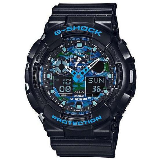 Casio G-Shock Analog-Digital รุ่น GA-100CB-1ADR