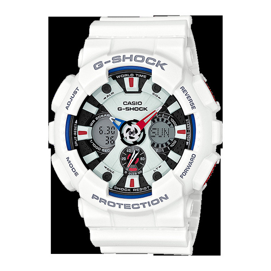 Casio G-Shock รุ่น   GA-120TR-7ADR