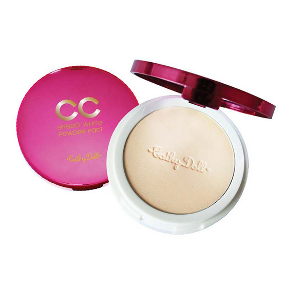 Cathy Doll CC Powder Pact SPF40 PA+++ 12g Speed White #21 Light Beige