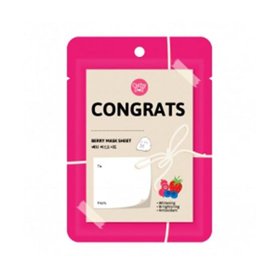 ลดราคา !! Cathy Doll Congratulation Berry Mask Sheet 25 g. - Cathy doll, ผลิตภัณฑ์ความงาม