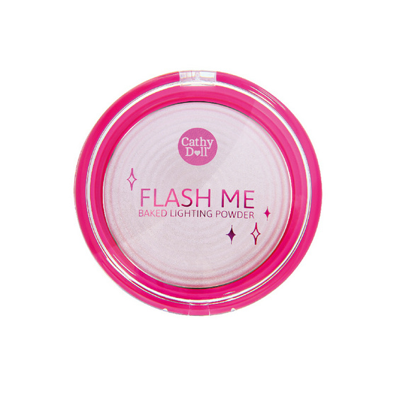 Cathy Doll Flash Me Baked Lighting Powder 8g. #3 Pink Lights