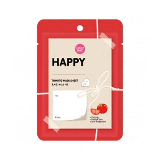 รีวิว !! Cathy Doll Happy Tomato Mask Sheet 25 g. - Cathy doll, ผลิตภัณฑ์ความงาม
