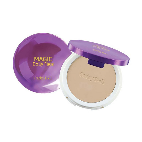 Cathy Doll Magic Dolly Face Two Way Cake Powder SPF30 PA+++ 12g. #23 Natural Beige