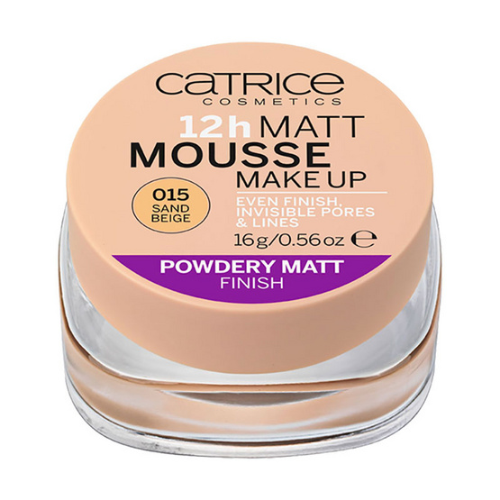 Catrice 12h Matt Mousse Make up #015