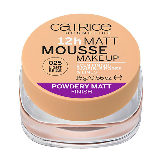 Catrice 12h Matt Mousse Make up #025