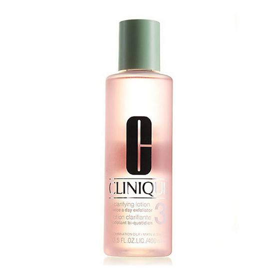 Clinique : Clarifying Lotion Twice A Day Exfoliator # 3 : 400ml.