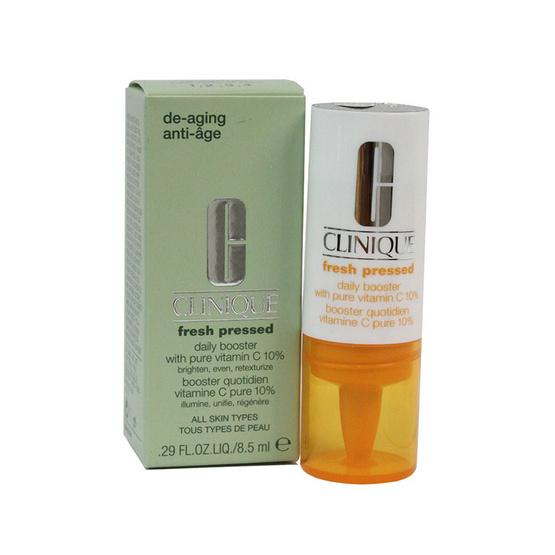 พร้อมส่ง !! Clinique Fresh Pressed Daily Booster With Pure VitaminC 10% 8.5ml - Clinique, ผลิตภัณฑ์ความงาม