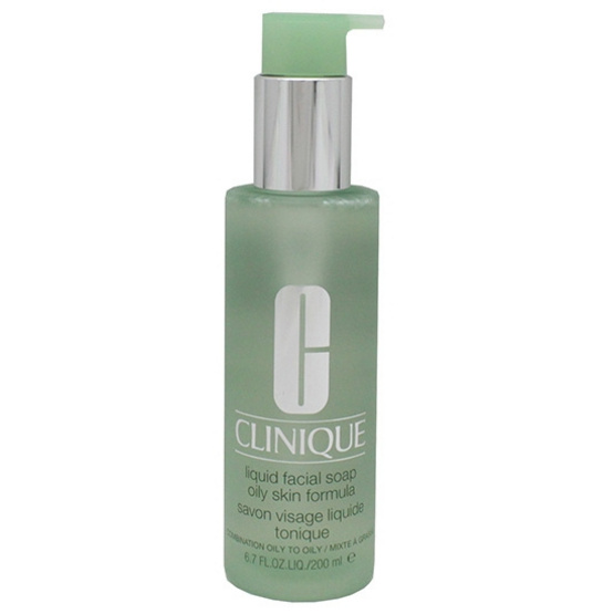 Clinique Liquid Facial Soap Oily Skin Formula 200ml.