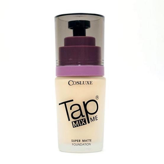 Cosluxe TAP MIX ME Super matte foundation 40ml No.T01
